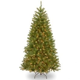 7ft North Valley Spruce Prelit LED Artificial Christmas Tree