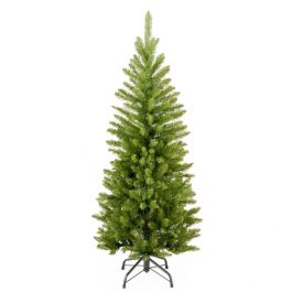 7ft Kingswood Fir Artificial Slim Style Christmas Tree with Stand