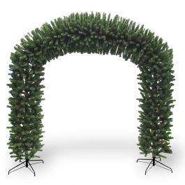 8ft Prelit LED Archway in Metal Folding Stand Mains Powered