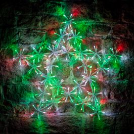 60cm Multi Coloured LED Star Light