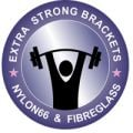 Extra Strong Brackets - Nylon 6-6 & Fibreglass