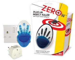 Plug In Fly and Mosquito Killer - with Blue LEDs