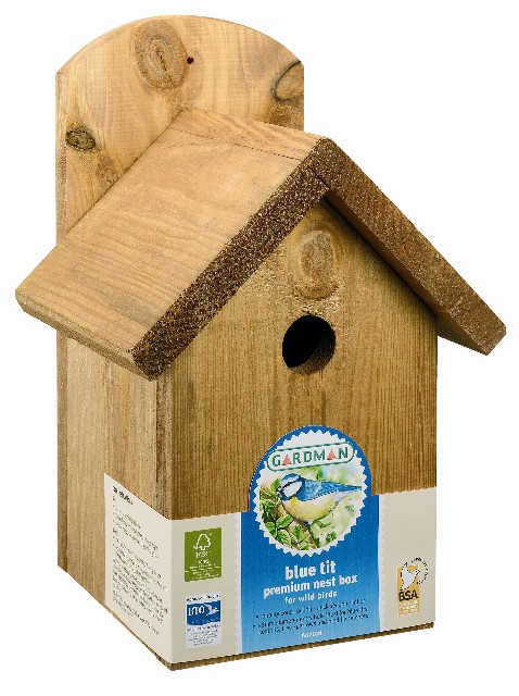 Blue Tit Premium Nest Box