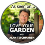 As seen on Love Your Garden with Alan Titchmarsh