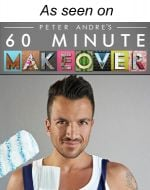 As seen on Peter Andre's 60 minute makeover