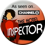 As seen on The Hotel Inspector