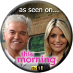 As seen on ITV's This Morning, November 2011
