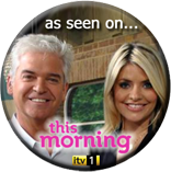 As seen on ITV's This Morning, February 2012