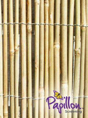 4.0m x 1.8m Bamboo Cane Fencing Screening by Papillon™
