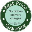 Best Price Guarantee - No hidden delivery charges