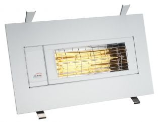 1.5kw White Infrared Heater Flush Mounted by Burda™