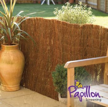 4.0m x 1.2m Brushwood Thatch Screening Rolls by Papillon� (Standard)