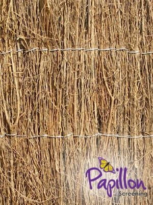 Brushwood Thatch Natural Fencing Screening Rolls (Thick) 4.0m x 1.5m (13ft 1in x 5ft) - By Papillon™