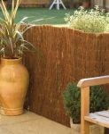 Brushwood Thatch Screening Rolls - 4.0m x 1.2m (Thick)
