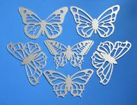 Butterfly Mirrors - Bird Scarers (Set of 6)