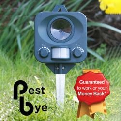 Battery Operated  Cat Repeller By PestBye®