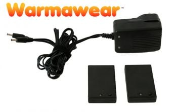 Warmawear™ Rechargeable Li-Po Glove Batteries With Charger