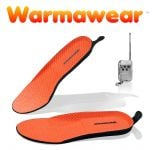 Warmawear™ Wireless Rechargeable Heated Insoles with Remote Control