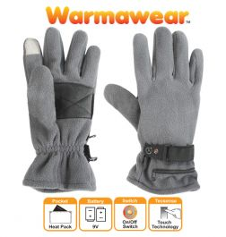 Dual Fuel Fleece Battery Heated Gloves - by Warmawear™