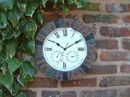 Garden Clocks With Thermometers 25 From 163 19 99