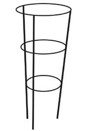 76cm Metal Conical Plant Supports - 4 Pack