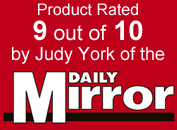 Rated 9/10 by the Daily Mirror