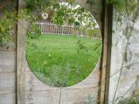 1ft 4in Circular Acrylic Garden Mirror - by Reflect�