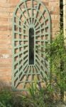 5ft 10in x 2ft 5in Perspective Illusion Arch Garden Mirror