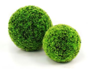 40cm Artficial Grass Effect Topiary Balls by Gardman
