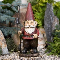 Maxi Wind Bell Gnome Ornament