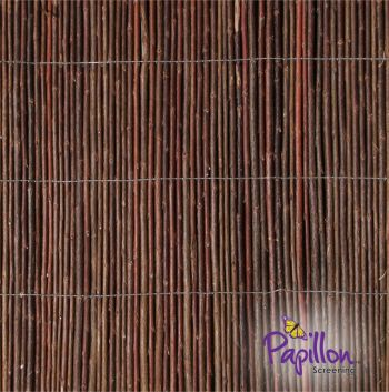 5.0m x 1.0m Premium Willow Fencing Screening Rolls by Papillon™
