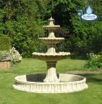 Classical Stone Fountain - 3 Tier