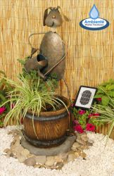 Tobu Solar Water Feature and Planter
