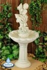 Cherub with Cascading Sea Shells Fountain