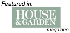 Featured in House and Garden Magazine