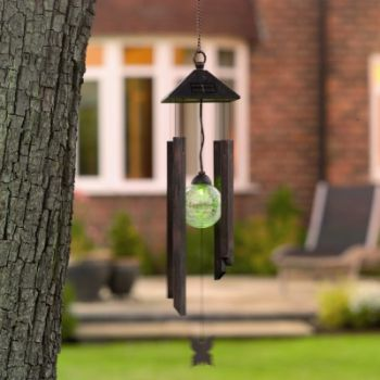 Wind Chime Light - With Solar Striker
