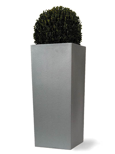 Tall Square  Fibreglass / Resin Planter - H81cm x W35cm