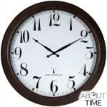 "Perfect Time Radio Controlled Outdoor Garden Clock - 57.5cm (23"") - by About Time™"