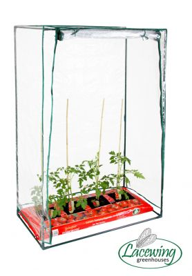 Lacewing™ 3ft 3in x 1ft 7in PVC Tomato Growbag Greenhouse