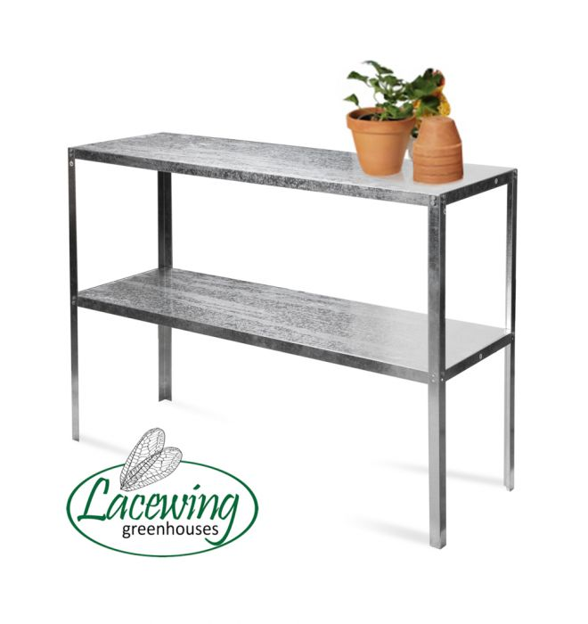 "3' 10½"" Lacewing™ Essential 2 Tier Greenhouse Staging"