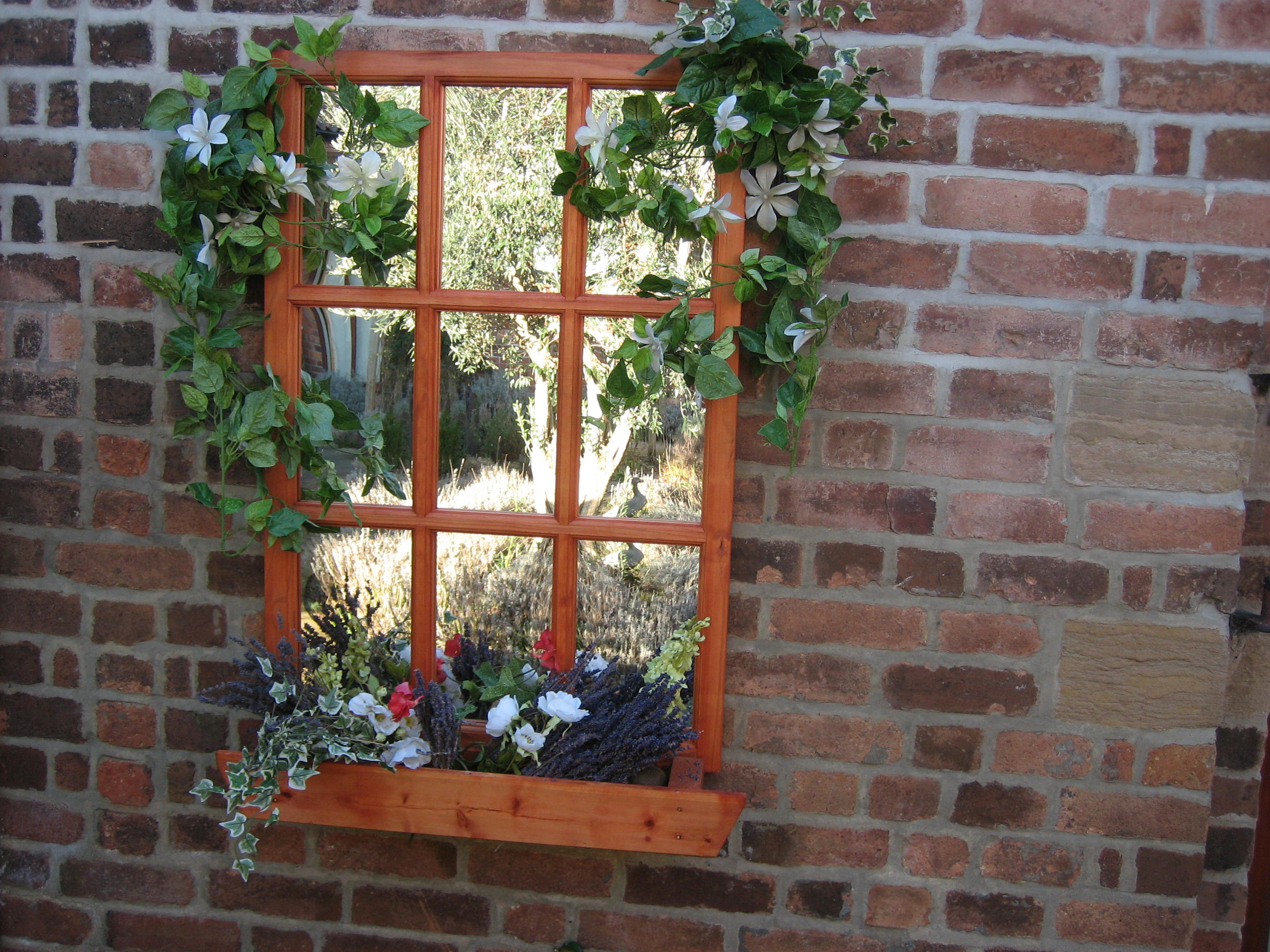 Georgian window box mirror