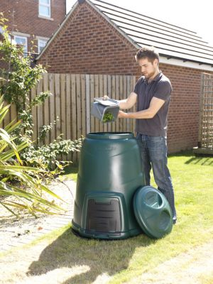 220L Small Compost Bin (Green)