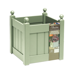 46cm Timber Heritage Sage Green Classic Planter