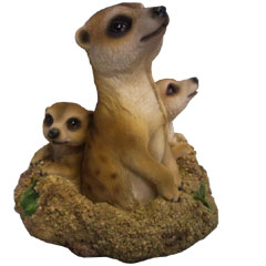 Groundhog Meerkat Family