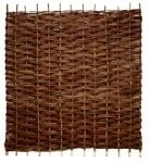 6ft  (1.8m) Willow Bunch Weave Hurdles Fencing Panel by Papillon™