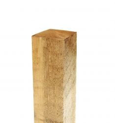 6ft Square Fence Post (H180cm x W7.5cm)