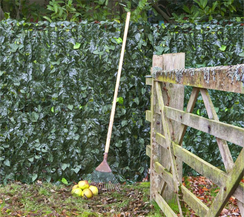 3.0m x 1.0m Ivy Hedge Artificial Screening by Papillon™