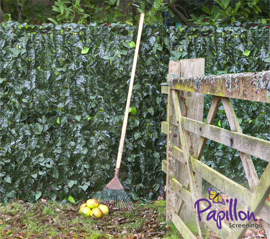 Ivy Hedge Artificial Fencing Screening 3.0m x 1.5m (10ft x 5ft) - By Papillon™