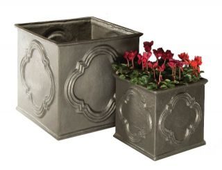 Hampstead Cube Planters