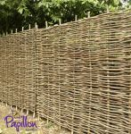 6ft (1.8m) Hazel Hurdles Fencing Panel by Papillon™